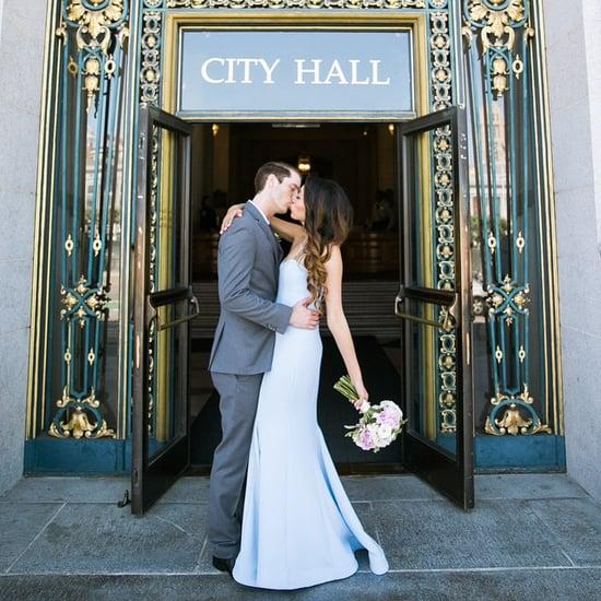 Die schönsten, farbigen Brautkleider