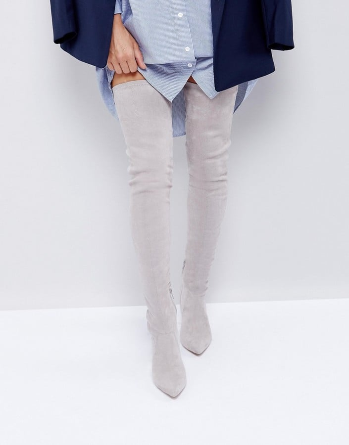 ASOS Kendra Point Over-the-Knee Boots