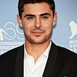 Zac Efron gave a smirk at the At Any Price photocall at the Venice Film Festival.