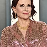 Megan Mullally at the Vanity Fair Oscars Afterparty 2020