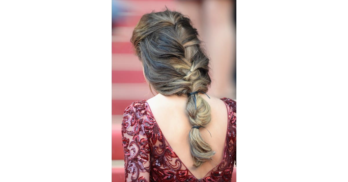 B Styled Hair Collection: Cheryl Cole's Hair Was Styled In A Loose Braid That