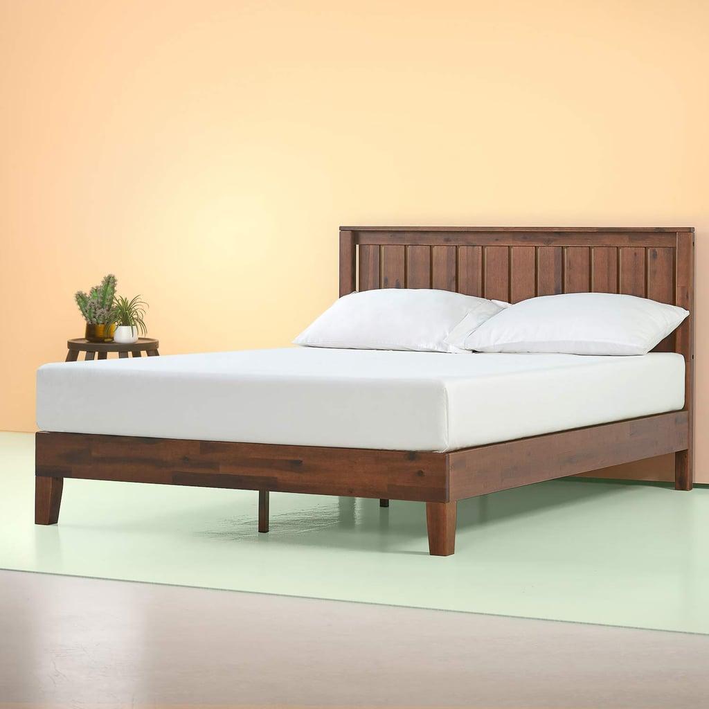 Zinus Vivek Deluxe Wood Platform Bed