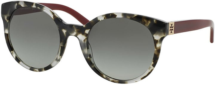 Tory Burch Round Colorblock Sunglasses ($175)