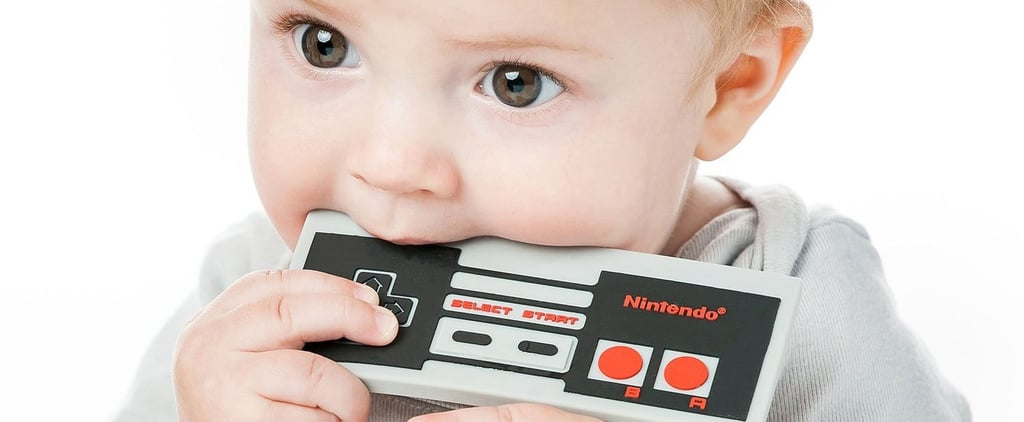 Nintendo NES Controller and Game Boy Silicone Teethers