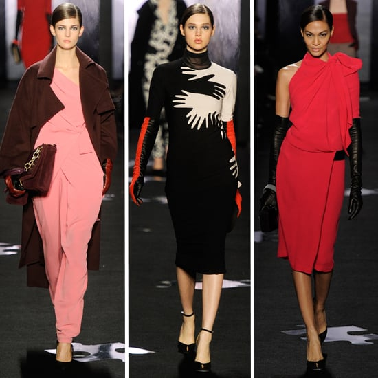 Review and Pictures of Diane von Furstenberg 2012 Fall New York Fashion Week Runway Show