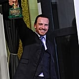 Michael Fassbender was happy about his best actor win.