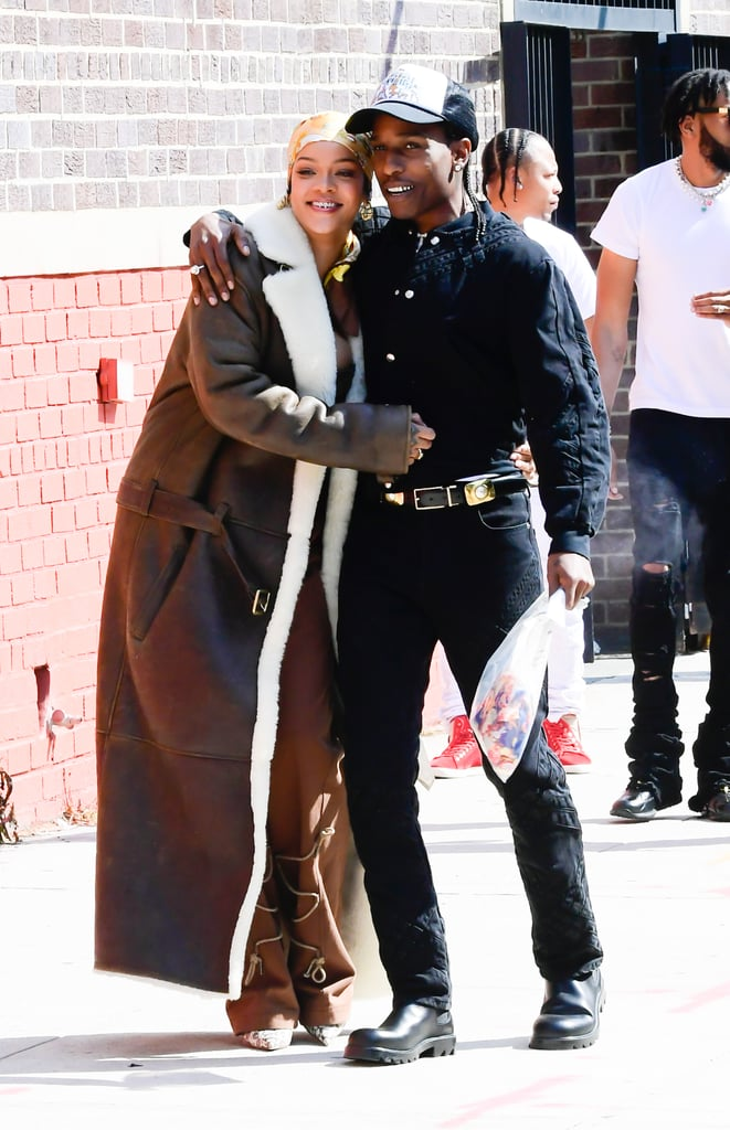 """News of Rihanna and A$AP Rocky's friendship-turned-romance first broke back in November, but it was only recently that the pair started giving us glimpses of their cute relationship. In May, the 32-year-old rapper confirmed he was, in fact, dating Rihanna in an interview with GQ. Not only did he refer to the 33-year-old singer as his """"lady,"""" but he even went as far as to call her """"the one."""" Since then, the two have not been shy about showing off their romance, whether they're hitting the town for a date night or filming a music video together. It's still unclear which song said music video was for, so as we wait for more details, check out all the cute moments Rihanna and A$AP Rocky have shared so far!       Related:                                                                                                           What Do Rihanna's Tattoos Mean? Here's a Quick Guide"""