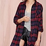An Oversize Button-Front Shirt