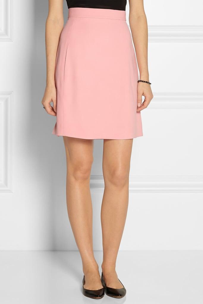 Chloé Crepe A-Line Skirt ($875)