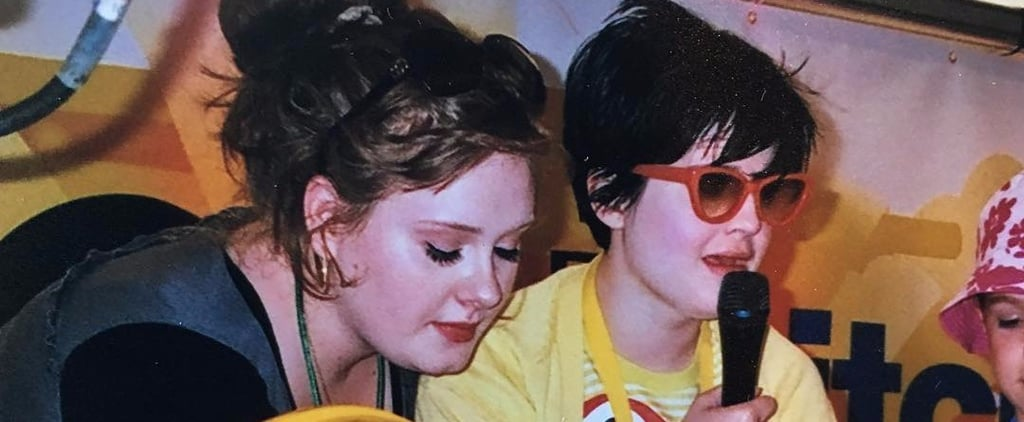Kelly Osbourne Throwback Photo of Adele on Instagram 2017