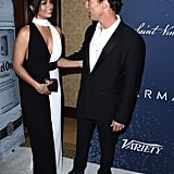 Matthew McConaughey and Camila Alves Make a Rare (Yet Glamorous) Red Carpet Appearance
