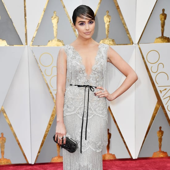 Olivia Culpo's Marchesa Dress at the Oscars 2017
