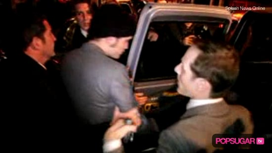 Robert Pattinson Leaving the Remember Me London Premiere Afterparty
