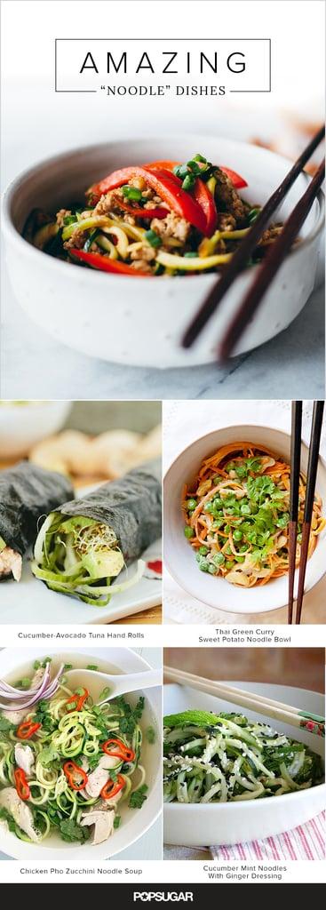 """15 Amazing """"Noodle"""" Dishes"""