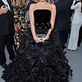 Sara Sampaio at the amfAR Cannes Gala 2019