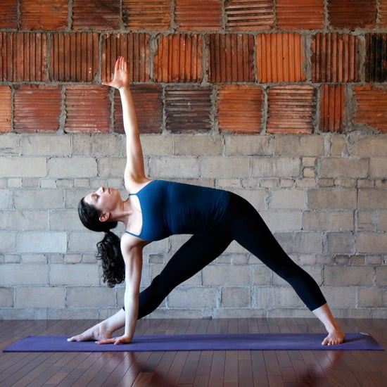 Open Triangle Pose