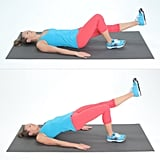 Single-Leg Hip Bridges: 10 on Each Side