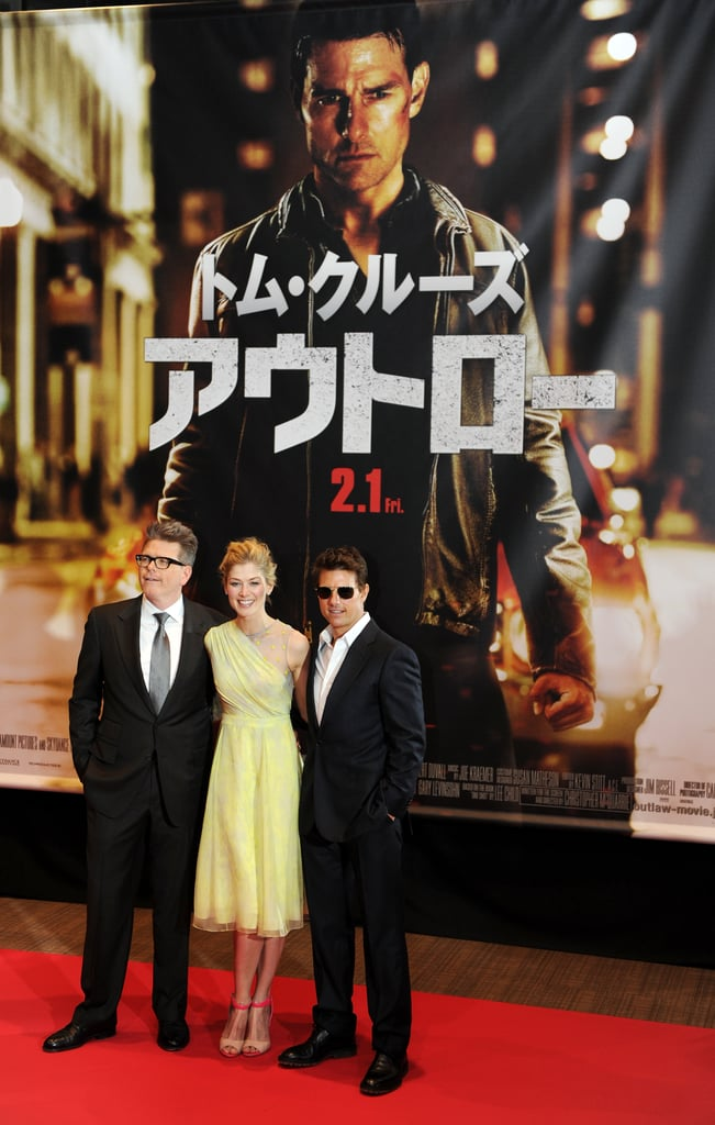 Tom Cruise attended the Japanese premiere of his new film.