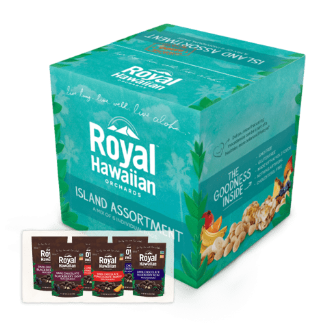 Royal Hawaiian Orchards Dark Chocolate Island Assortment