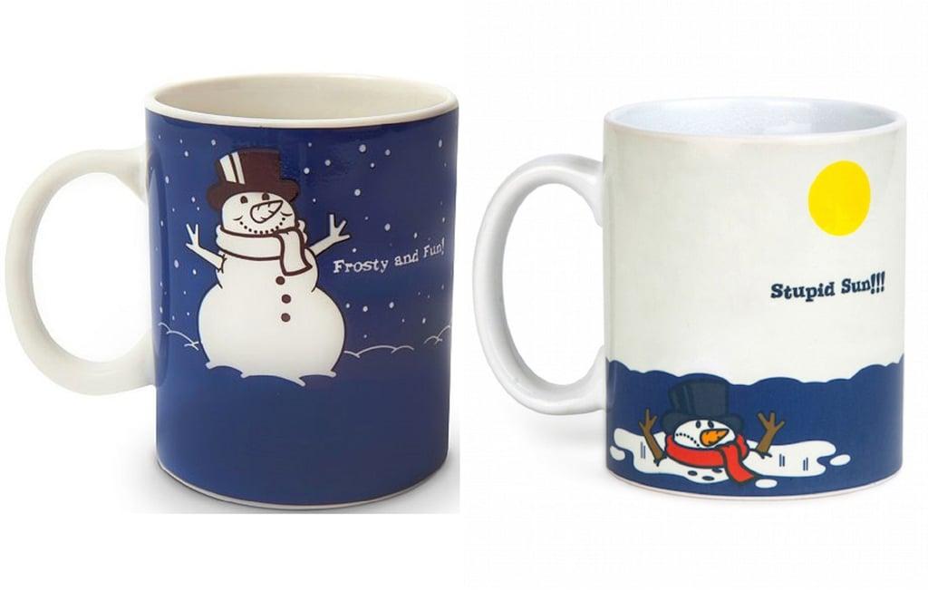 Always Fits Color-Changing Snowman Mug ($15)