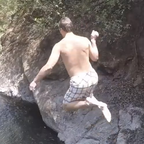 Tom Brady Diving Video