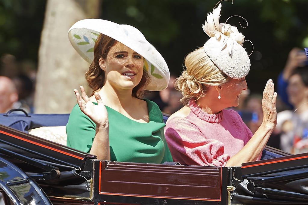 "Princess Eugenie and Jack Brooksbank's big day is almost here! We already know that Princess Beatrice will serve as her sister's maid of honour and that the royal's dress will be classic with a twist, but what about the carriage ride? According to Kensington Palace, Eugenie and Jack will ""undertake a short carriage procession through part of Windsor High Street"" and ""the carriage will process through the grounds of Windsor Castle, departing via Castle Hill to proceed along part of the High Street before returning to the Castle via Cambridge Gate."" Vanity Fair reports that the couple will ride in an open-top State Landau carriage, similar to the one Prince Harry and Meghan used for their wedding. The State Landau is mostly used by Queen Elizabeth II during her state visits, but we're sure she has no problem letting her granddaughter borrow it for her wedding. Ahead, check out photos of Eugenie's previous carriage rides to get you ready for the big day!      Related:                                                                                                           How Prince Philip and Sarah Ferguson's Rocky Relationship May Affect Eugenie's Wedding"