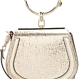 Chloé Nile Small Metallic Leather Cross-body Bag