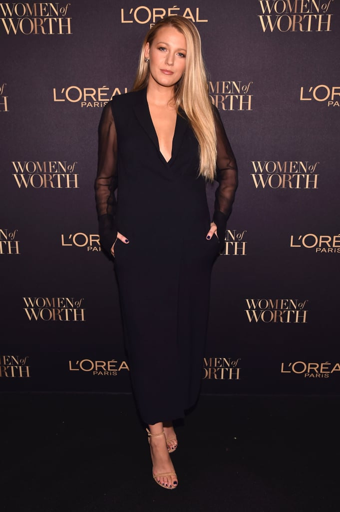 Blake Lively's Lanvin Dress at L'Oreal Women of Worth 2016