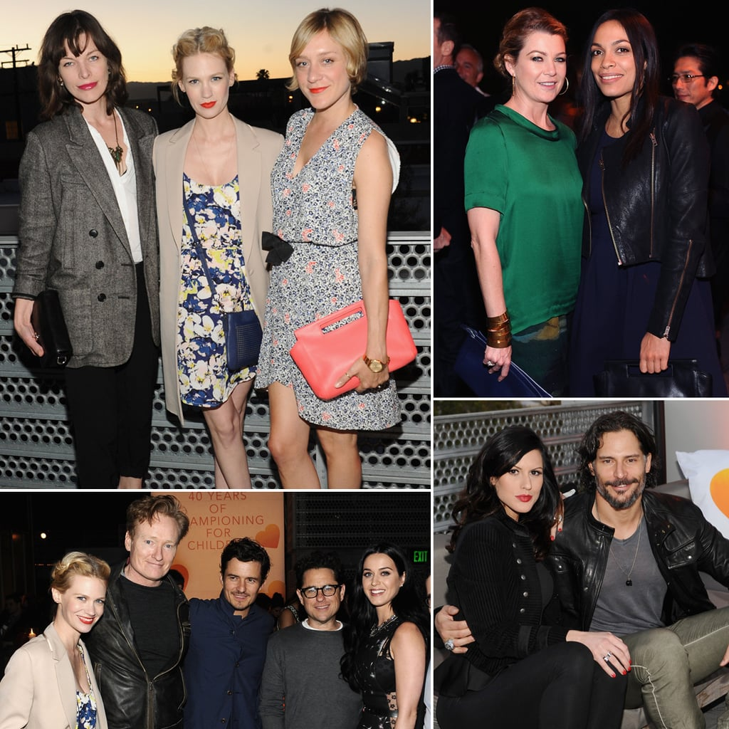 Katy Perry and Orlando Bloom at Coach Benefit | Photos