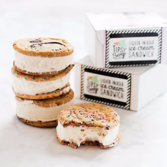 Boozy Ice Cream Sandwiches