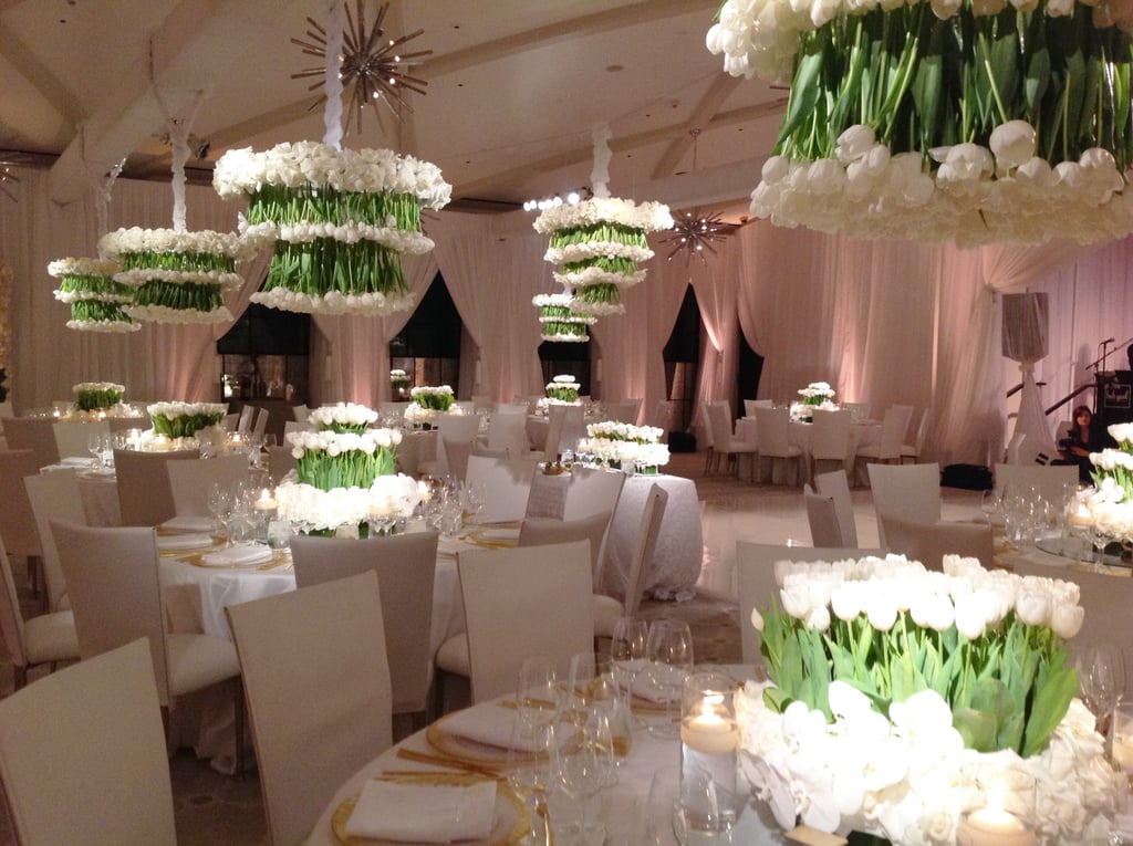 Floral Ceiling Treatments 2016 Wedding Flower Trends