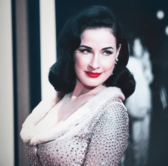 Dita Von Teese Gets Naked With Two