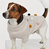 H&M Dog Sweater With Pompoms