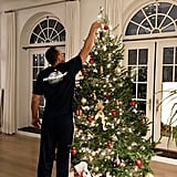 Jennifer Lopez and Alex Rodriguez Christmas Tree