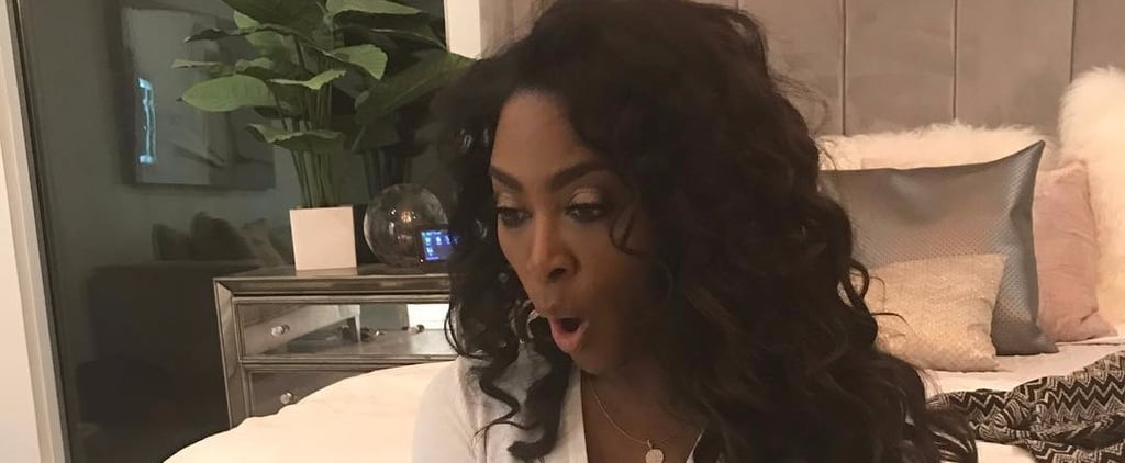 RHOA Star Kenya Moore's Mansion Has Glitter Walls