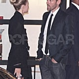 Kate Bosworth out in LA with boyfriend Michael Polish.