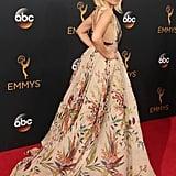 Kristen Bell Wearing Zuhair Murad at the Emmys 2016