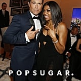 Rob Lowe and Taraji P. Henson