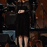 Adele took the stage multiple times during the evening.
