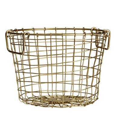 Small Wire Basket ($13)