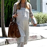 Sarah Michelle Gellar had a book in her hand as she left the hair salon.