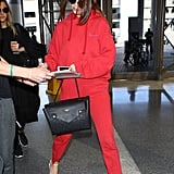 Selena's Louis Vuitton Trocadero Bag