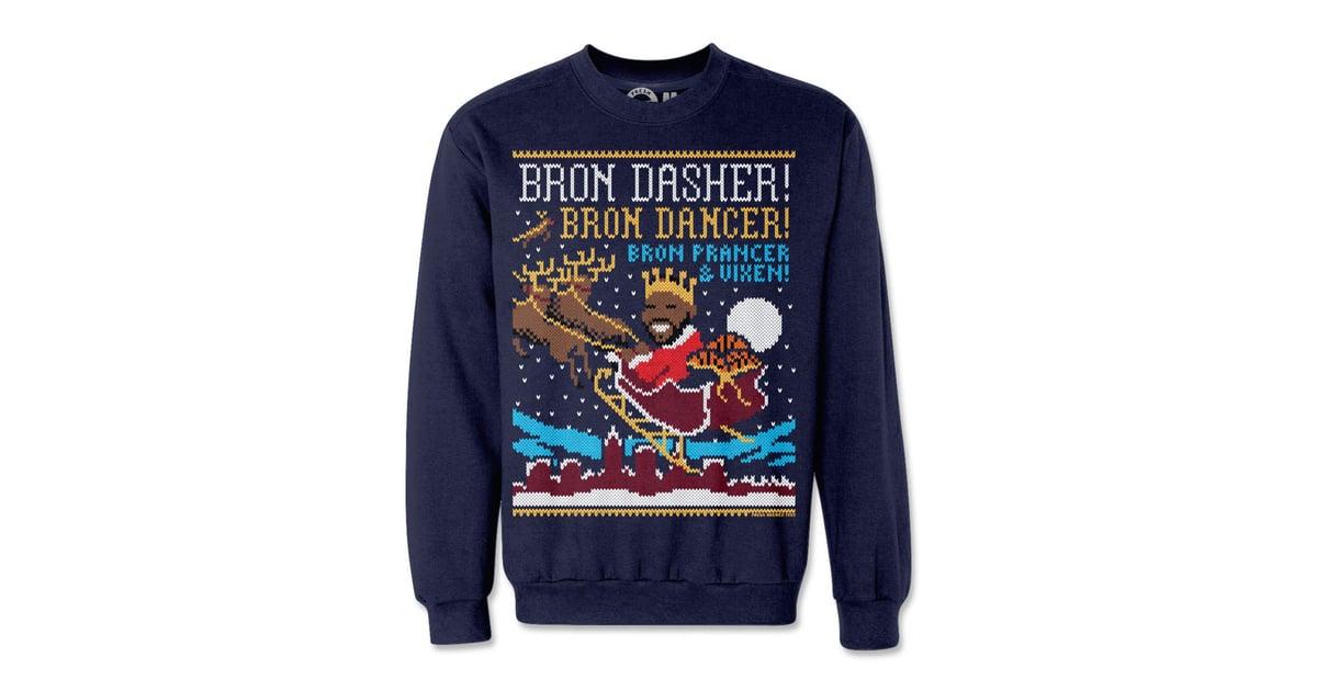Bron Dasher Ugly Christmas Sweatshirt 50 Kim Kardashian And