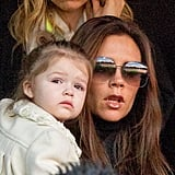 Cute Photos of Victoria Beckham and Daughter Harper