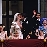 Sarah, Duchess of York, and Prince Andrew, 1986