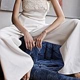 Shop the Look: The Lace-Trim Jumpsuit