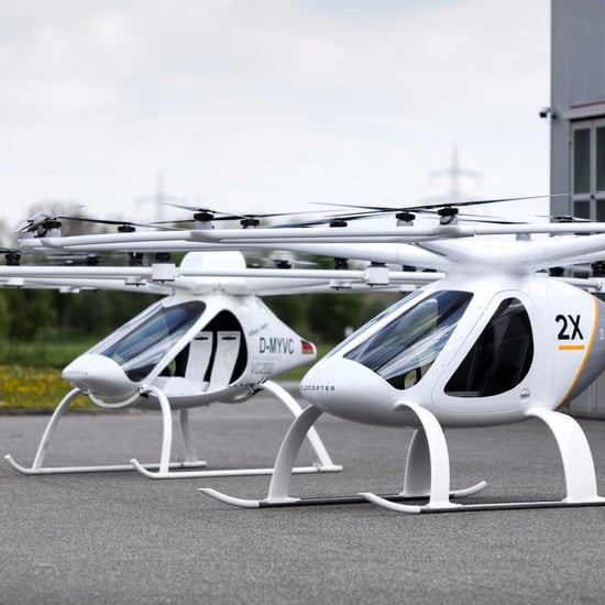 Dubai Flying Taxi 2017