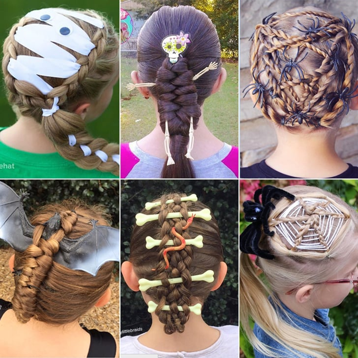 Halloween braid hairstyles for kids popsugar moms its scary how impressive these 23 halloween inspired braids are urmus Image collections