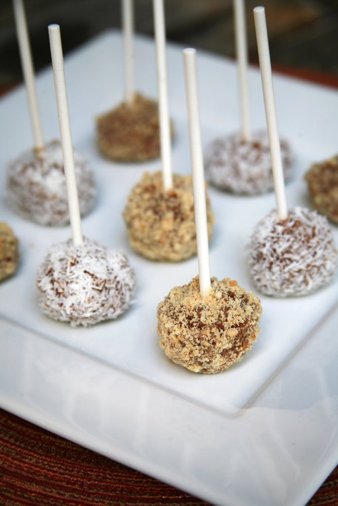 Mini Vegan Caramel Apples