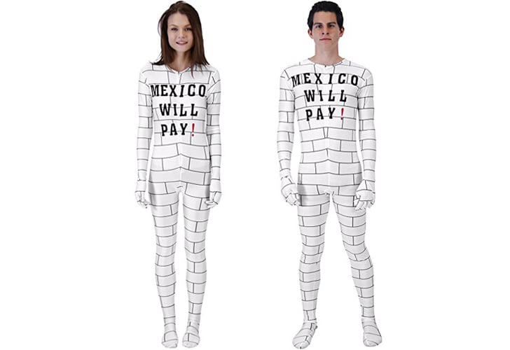 A border wall costume being sold on Amazon has caused some much expected controversy. The unisex jumpsuit by Costume Agent reads  Mexico will pay!  sc 1 st  Popsugar & Petition Against Amazonu0027s Border Wall Halloween Costume | POPSUGAR News